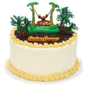 Party Supplies   Curious George Cake Toppers: Toys & Games