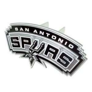 SAN ANTONIO SPURS LOGO TRAILER OFFICIAL HITCH COVER: Sports & Outdoors