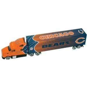 Official NFL Licensed Chicago Bears Diecast Tractor Trailer Toys