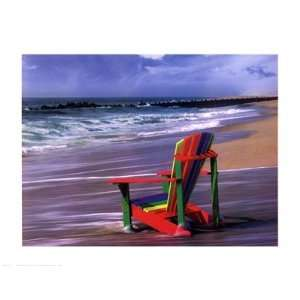Chair Finest LAMINATED Print Mike Jones 28x22: Home & Kitchen