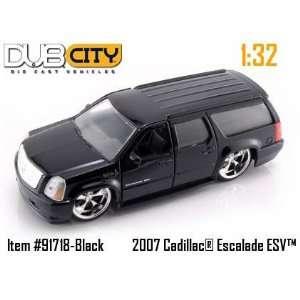 Jada Toys 1/32 Scale Diecast Dub City Series 2007 Cadillac