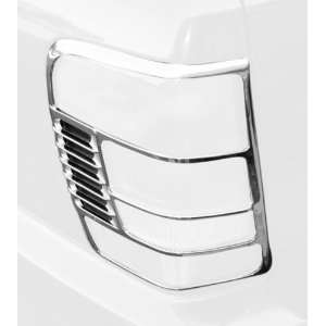 Rugged Ridge 13310.11 Chrome Tail Light Trim Cover for