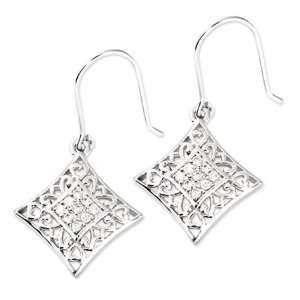 I Love You All Year Long Sterling Silver Earrings Jewelry