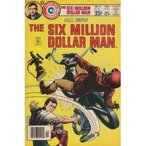 Comics   Six Million Dollar Man #5 Comic Book (Oct 1977
