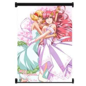 Gundam Seed Destiny Anime Girls Lacus Clyne & Cagilli Fabric Wall