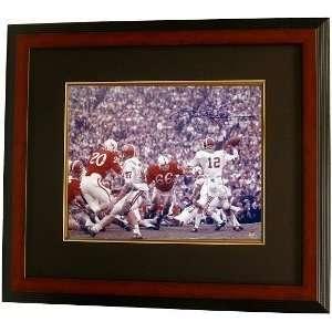 Ken Stabler Autographed/Hand Signed Alabama Crimson Tide 16x20 Color