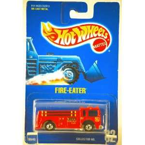 1991 Hot Wheels Fire Eater No. 82 Toys & Games