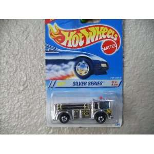 Hot Wheels Fire Eater 1995 Silver Series #1 Collector #322