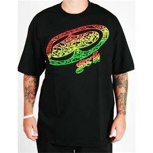 SRH Rasta Big Spade T Shirt   Small/Black: Automotive