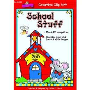 Publications DJ 605003 School Stuff Clip Art Cd Everything Else
