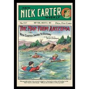 Nick Carter The Man from Arizona 16X24 Giclee Paper
