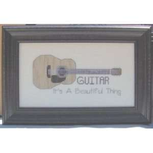 Guitar Book II, Acoustic   Cross Stitch Pattern: Arts