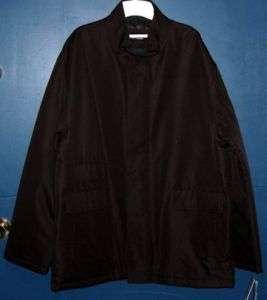 Mens Pierre Cardin Brown Winter Jacket Size Medium NWOT