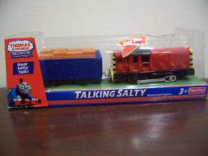THOMAS FRIEND TALKING TRAIN TRACKMASTER MOTORIZED SALTY