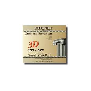 and Roman Art, 3D Content Collection (3DS , DXF Formats): Electronics
