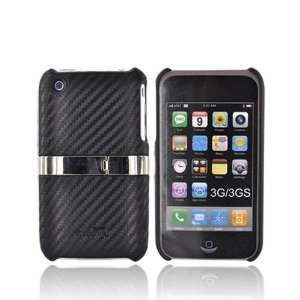 OEM Dragonfly iPhone 3G3Gs Hard Case Carbon BLACK