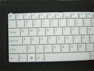 New Genuin SONY VAIO VGN N17C/W US Keyboard 147997921 White