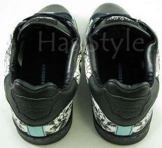 Christian Audigier Hardy blue black STACT Shoes Skull