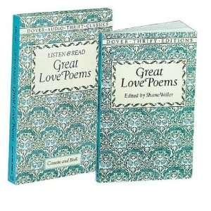Listen & Read Great Love Poems (Book & Audio Cassette) (Dover Thrift
