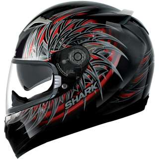 SHARK S900 INMATE MOTORBIKE INTERNAL VISOR FULL FACE MOTORCYCLE CRASH