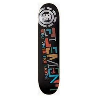 Element Skateboards Section Blend Deck 7.75 Thriftwood Ppp