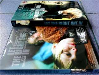 LET THE RIGHT ONE IN Swedish Teen Vampire Romance DVD