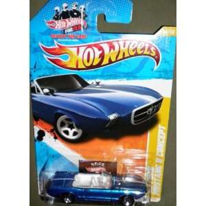 2011 HOT WHEELS NEW MODELS 14/50 BLUE CONVERTIBLE 63 FORD