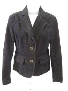MICHAEL MICHAEL KORS Green Corduroy Blazer Jacket Sz 2