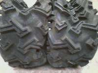 ATV FOUR WHEELER TIRES PAIR 21/12.00 10 MUD SHARK