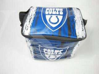 NFL INDIANAPOLIS COLTS Ice Chest Lunch Box Cooler Bag