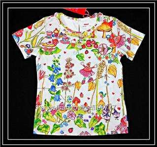 Oilily ~ FairyTale Boutique Girls Timone Top Tee Shirt ~ 92 122 or 2