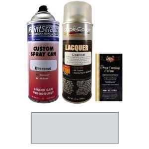 12.5 Oz. Nobel Silver Metallic Spray Can Paint Kit for