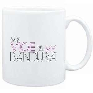 : Mug White  my vice is my Bandura  Instruments: Sports & Outdoors