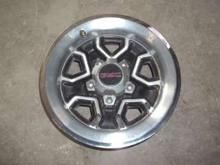 82 93 S10 S15 Sonoma Factory 14x6 Rally Rim + Trim Ring Center Cap