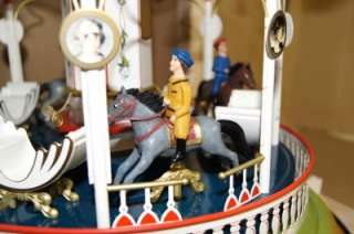 MARKLIN MäRKLIN 16121 CLOCKWORK MUSICAL CAROUSEL TIN TOY NEW BOXED mq