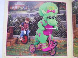 Barney and Baby Bop Go To School By Mark S. Bernthal Brand New