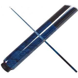 BLUE MARBLE Graphite Pool Cue with Case, Billiards