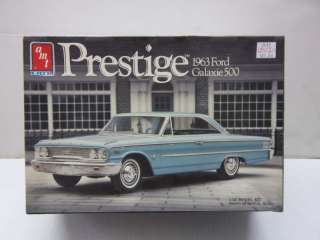 AMT ERTL 1/25 1963 FORD GALAXIE 500 PLASTIC MODEL USED