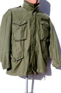 Vintage U.S. Army 60s 1967 Vietnam War M 65 Field Jacket Sz Medium