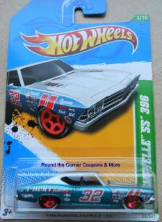 Hot Wheels Treasure Hunt 69 CHEVELLE SS 396 Regular Quantity Available