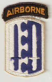 2nd Airborne Infantry Brigade WWII Army Patch