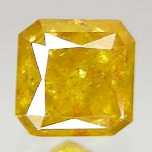 41cts~RADIANT VIVID YELLOW NATURAL LOOSE DIAMOND