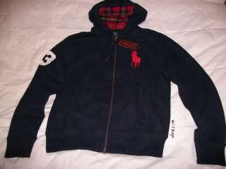 polo ralph lauren big pony kapuzenpullover fleece. Black Bedroom Furniture Sets. Home Design Ideas