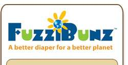 FuzziBunz One Size Cloth Diaper 813482010364