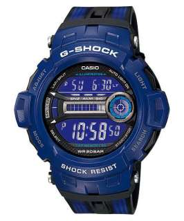 NEW CASIO G SHOCK DUAL TIME CHRONO TIMER ALARM 200M MENS WATCH GD 200