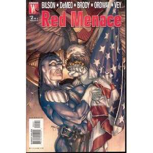 Red Menace #2 Danny Bilson Books