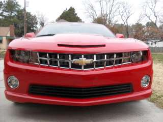 Chevy Camaro chrome Grille Grill insert 2010 2011 NEW