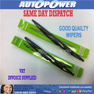 economy wiper blades of a high quality pair of wipers to fit the