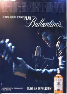 2011 Ballantines Scotch Whisky magazine Print Ad in russian ~Russian