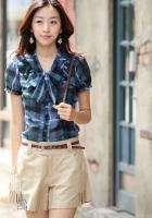 Korean 2011 Ladys Summer Skirt Short Pants With Belt Beautiful